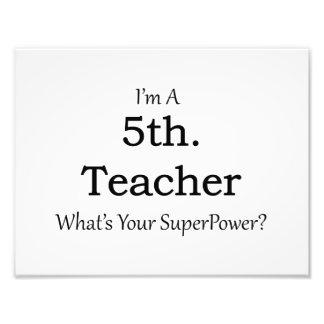 5th. Grade Teacher Photograph