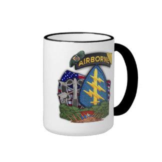 5th green berets veterans vietnam war vets cup ringer coffee mug