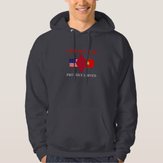 5TH INFANTRY DIV VIETNAM HOODED SWEATSHIRT