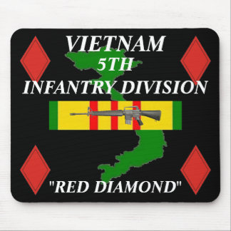 5th Infantry Vietnam Mousepad 2/b