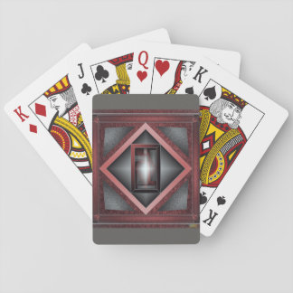 5th Pattern; Beveled Frame Playing Cards