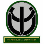 5th Psychological Operations Battalion flash Photo Sculptures