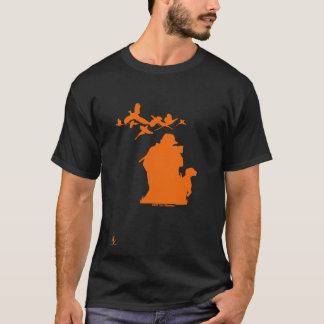 5th Season Orange Michigan-Pheasant Hunter T-Shirt
