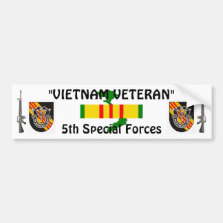 5th Special Forces bumper sticker