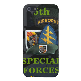 5th special forces green beret vietnam i iPhone 5 cases