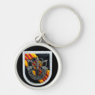 5th special forces green berets sf sof vietnam war key ring