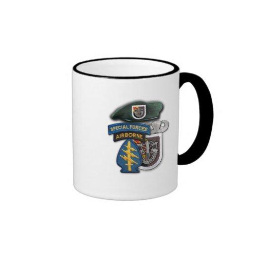 5th Special forces green berets veterans vets Mug