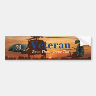 5th special forces green berets Vietnam Nam vets Bumper Sticker