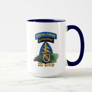 5th Special Forces Group Green Berets SF SFG Nam Mug