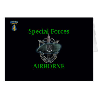 5th special forces group iraq gulf war vets Card