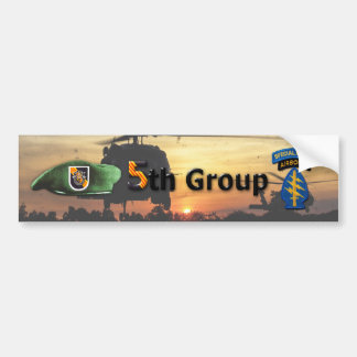 5th Special Forces Group SFG SF Veterans LRRP Bumper Sticker