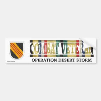 5th Special Forces Grp. SWA Combat Veteran Sticker Bumper Sticker