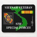 5th Special Forces Vietnam Mousepad 2/b