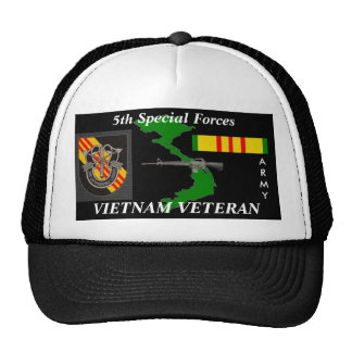 5th Special Forces Vietnam Veteran Ball Caps Cap