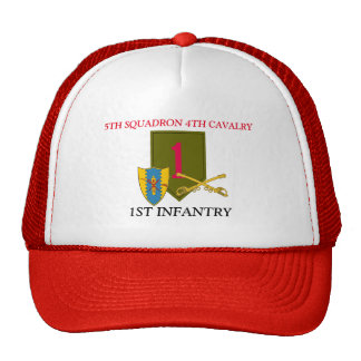 5TH SQUADRON 4TH CAVALRY 1ST INFANTRY HAT