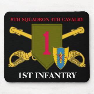 5TH SQUADRON 4TH CAVALRY 1ST INFANTRY MOUSEPAD