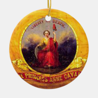 5th Virginia Cavalry  - The Princess Anne Cavalry Christmas Ornament