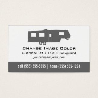 5th Wheel RV - Personal Business Card