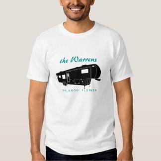 5th Wheel RV Silhouette Graphic T Shirts
