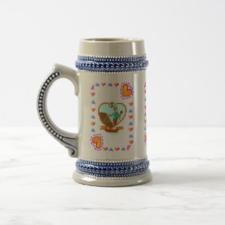 5th Wood Anniversary Wedding Anniversary Beer Stein