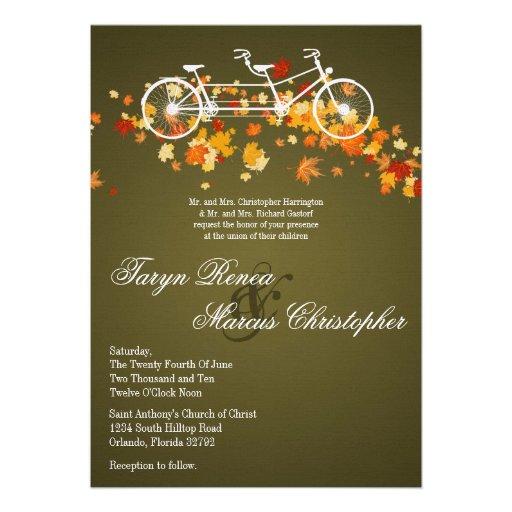 double bike wedding invitation 13 cm x 18 cm invitation card zazzle