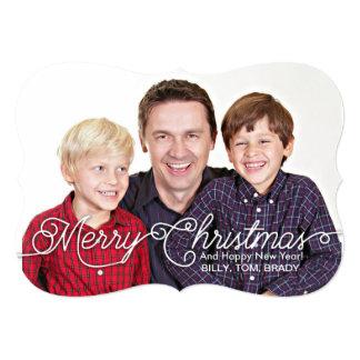 5x7 Customizable Christmas Card 13 Cm X 18 Cm Invitation Card
