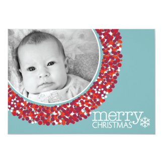 5x7 Double-sided Holiday Photo Card Invite