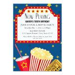 5x7 Movie Party Invite