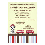 5x7 Nojo Fire Engine Baby Shower Invitation