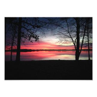 5x7 Pink Sky at Morning Print Photo Art