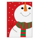 5x7 Snowman Cards