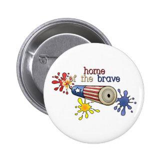 5x8-homeofbrave-firecracker pinback buttons