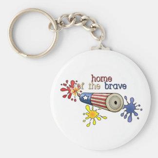 5x8-homeofbrave-firecracker keychain