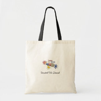 5x8-homeofbrave-firecracker budget tote bag