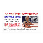 600_7880812, DO YOU FEEL POWERLESS?, FIND YOUR ... BUSINESS CARD TEMPLATES