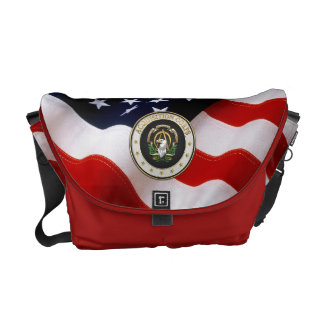 [600] Acquisition Corps (AAC) Branch Insignia [3D] Messenger Bag