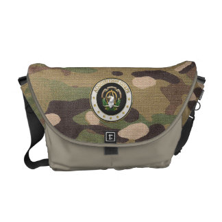 [600] Acquisition Corps (AAC) Branch Insignia [3D] Messenger Bags