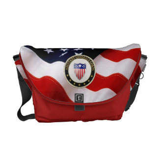 [600] Adjutant General's Corps Branch Insignia [3D Messenger Bags