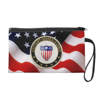[600] Adjutant General's Corps Branch Insignia [3D Wristlet Clutches