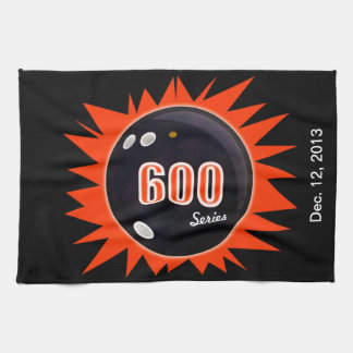 600 Bowling Series Tea Towel