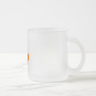 600 car frosted glass mug