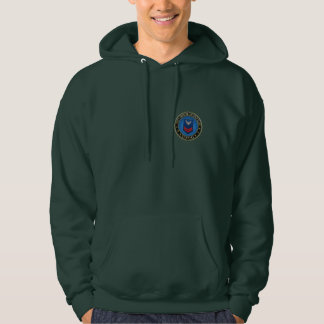[600] CG: Petty Officer Second Class (PO2) Hooded Sweatshirt