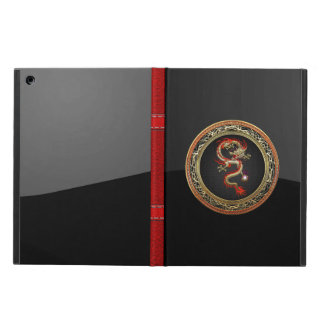 [600] Golden Chinese Dragon Fucanglong iPad Air Case