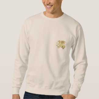 [600] Icelandic Dragon, Landvættir [Gold] Sweatshirt