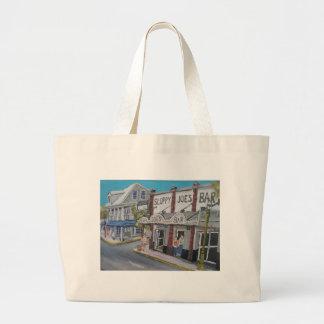 #600 Key West, Florida by BuddyDogArt Large Tote Bag