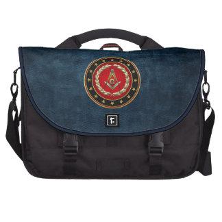 [600] Masonic Square and Compasses [3rd Degree] Laptop Messenger Bag