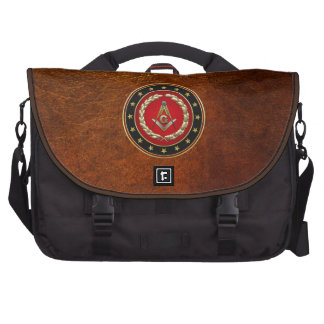 [600] Masonic Square and Compasses [3rd Degree] Bag For Laptop