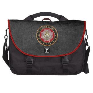 [600] Master Mason - 3rd Degree Square & Compasses Laptop Commuter Bag