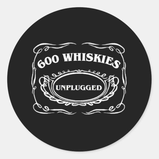 600WU round sticker