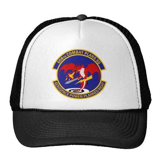 608th Combat Plans Squadron Hat